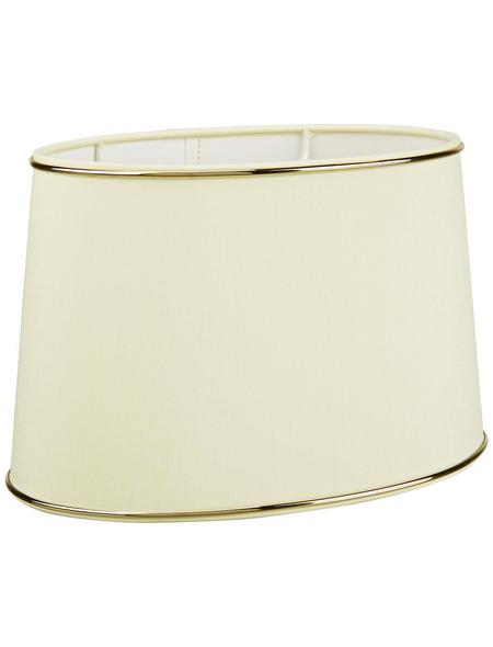 various Lampenschirm, Gold | Creme, 15x25 cm