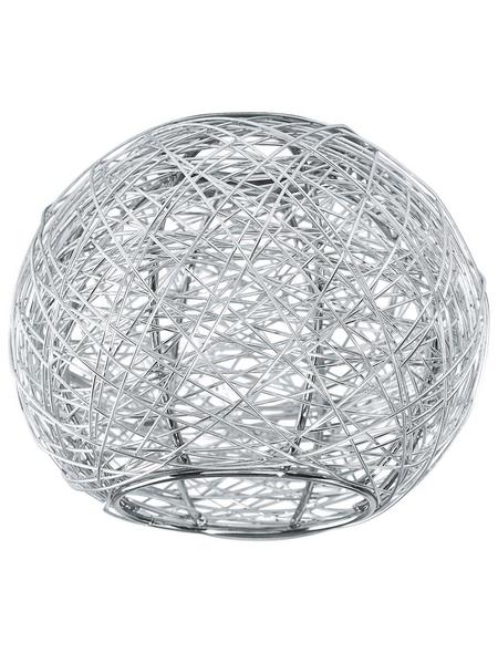 EGLO Lampenschirm, MY CHOICE, Silber, 9,5 cm