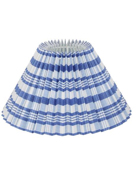 various Lampenschirm, Weiß   Blau, 25 cm