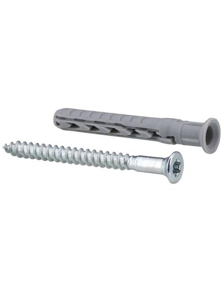 FISCHER Langschaftdübel, SXR, Metall   Nylon, 25 Stück, 8 x 60 mm