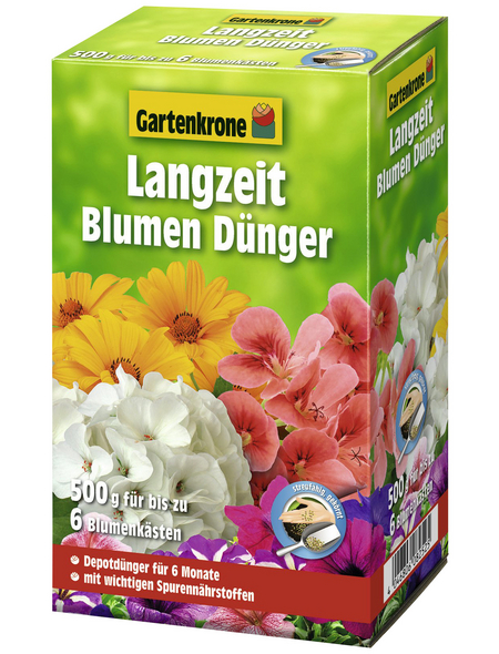 GARTENKRONE Langzeit-Blumendünger 0,5 kg