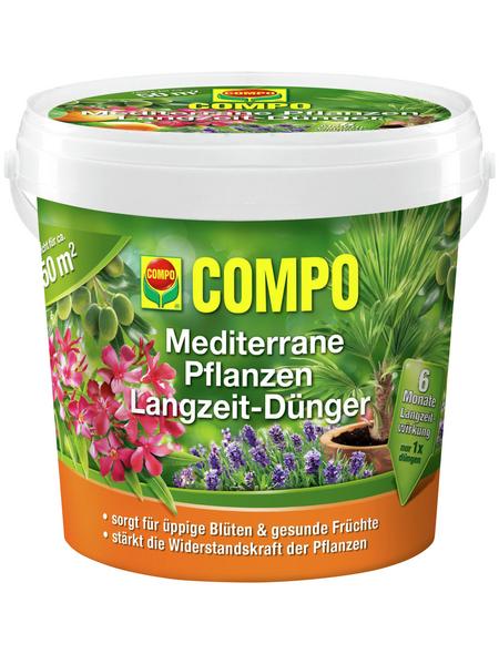 COMPO Langzeitdünger, 1,5 kg, schützt vor Mangelerscheinungen