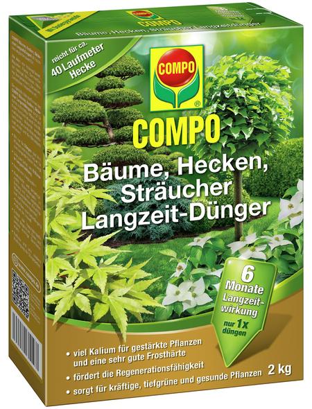 COMPO Langzeitdünger, 2 kg, schützt vor Mangelerscheinungen