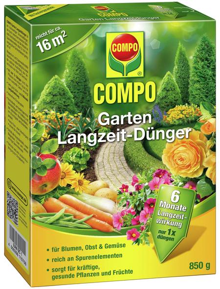 COMPO Langzeitdünger, 850 g, schützt vor Mangelerscheinungen