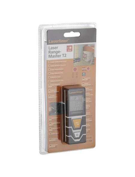 laserliner® Laser-Entferungsmeter »LaserRange-Master«, grau/schwarz