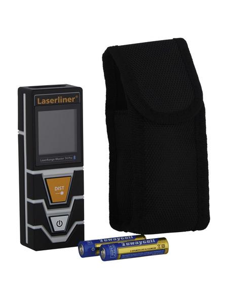 laserliner® Laser-Entferungsmeter »LaserRange-Master«, schwarz/grau