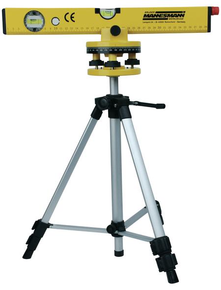 BRUEDER MANNESMANN WERKZEUGE Laser-Wasserwaage, Gelb 53 Cm