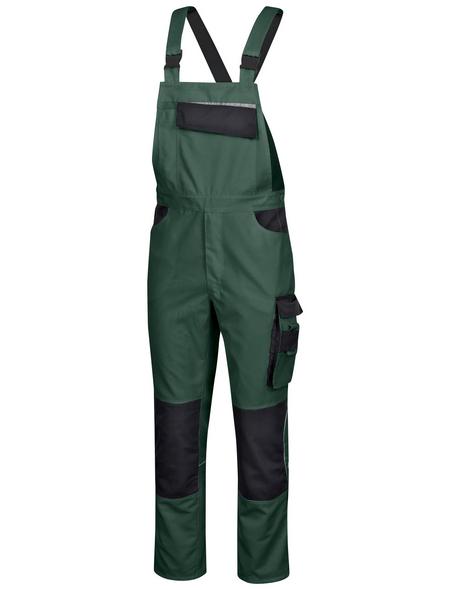 SAFETY AND MORE Latzhose EXTREME Polyester/Baumwolle grün/schwarz Gr. XL