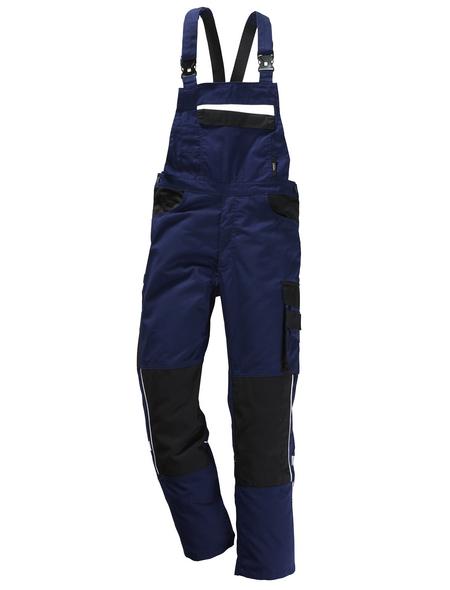 SAFETY AND MORE Latzhose EXTREME Polyester/Baumwolle marine/schwarz Gr. M