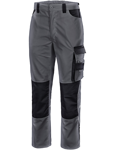 SAFETY AND MORE Latzhose, EXTREME, Polyester, Grau, XXL