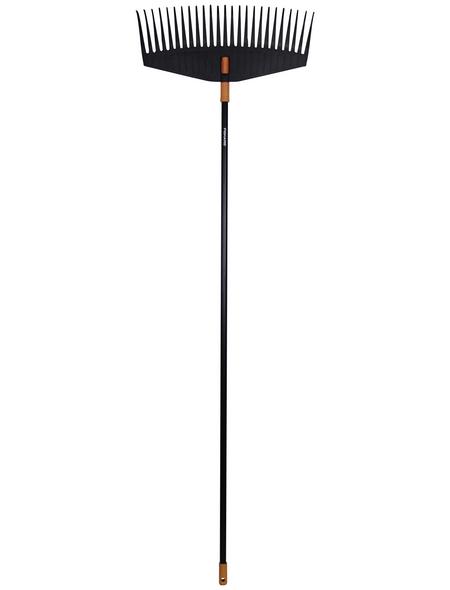 FISKARS Laubbesen »Solid«, Arbeitsbreite: 52 cm, schwarz/orange