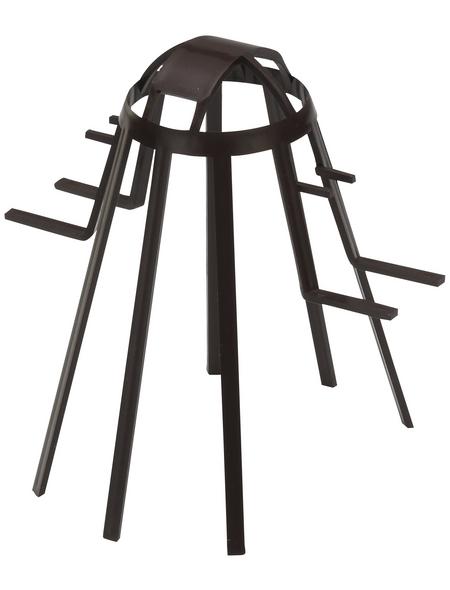 Laubfangkorb, Polypropylen (PP), Länge: 100 mm, schwarz