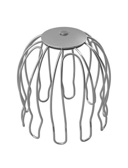 Laubfangkorb, verzinkter Stahl, Länge: 100 mm, silberfarben