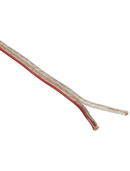 GO/ON! Lautsprecherleitung, Kabelquerschnitt: 2mm², Kupfer/Aluminium/Polyvinylchlorid (PVC)