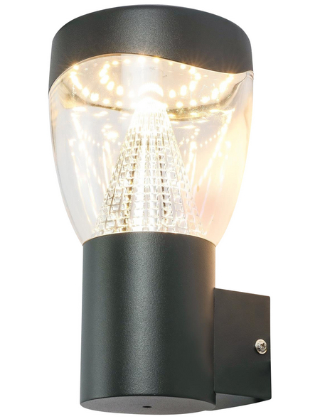 GLOBO LIGHTING LED-Außenleuchte »DELTA«, 9,6 W, IP44, warmweiß