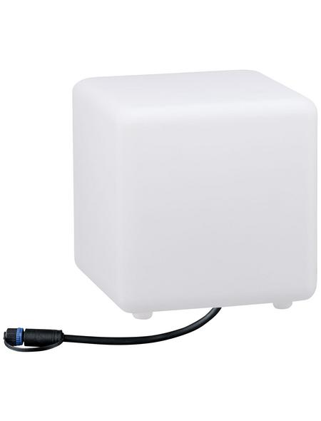 PAULMANN LED-Außenleuchte »Plug & Shine Cube«, 2,8 W, dimmbar