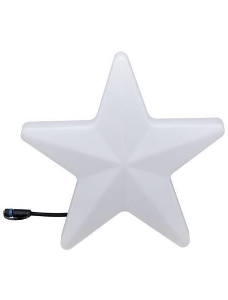 PAULMANN LED-Außenleuchte »Plug & Shine Star«, 2,8 W, dimmbar, IP67, warmweiß