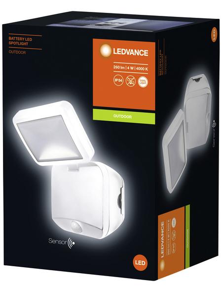 LEDVANCE LED-Außenstrahler, 4 W, inkl. Bewegungsmelder