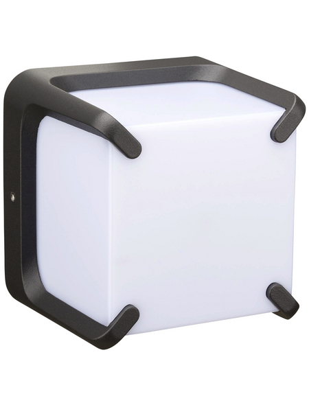 LUTEC LED-Außenwandleuchte »ARMOR«, 11 W, IP54, warmweiß