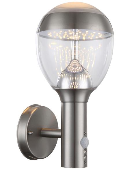 GLOBO LIGHTING LED-Außenwandleuchte »CALLISTO«, 11 W, inkl. Bewegungsmelder, IP44, warmweiß