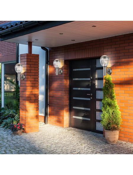GLOBO LIGHTING LED-Außenwandleuchte »CALLISTO«, 11,5 W, inkl. Bewegungsmelder, IP44, warmweiß