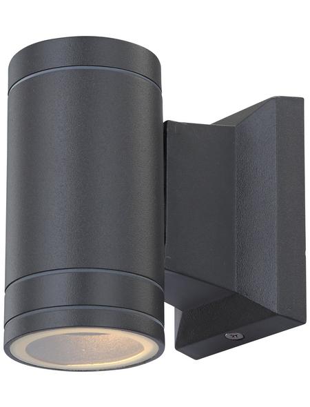 GLOBO LIGHTING LED-Außenwandleuchte »GANTAR«, 5 W, IP44, warmweiß
