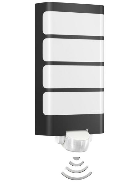 STEINEL LED-Außenwandleuchte »L 244 LED«, 7,5 W, inkl. Bewegungsmelder, IP44, warmweiß