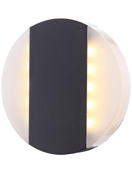 GLOBO LIGHTING LED-Außenwandleuchte »MOONLIGHT«, 11,6 W, IP44, warmweiß