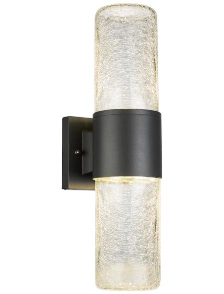 GLOBO LIGHTING LED-Außenwandleuchte »NINA«, 13,7 W, IP54, warmweiß