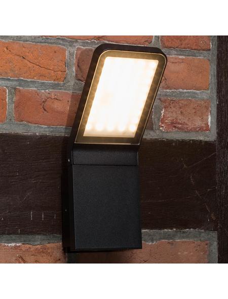 BRILLIANT LED-Außenwandleuchte »Panel«, 9 W, IP44, warmweiß