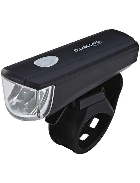 PROPHETE LED-Batterieleuchten-Set, Kunststoff / Metall, Rahmen-/ Lenker-Montage