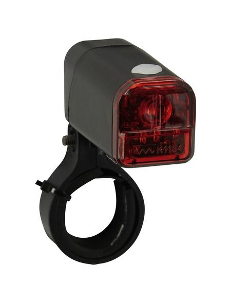 PROPHETE LED-Batterierücklicht, für Sattelstütze, schwarz