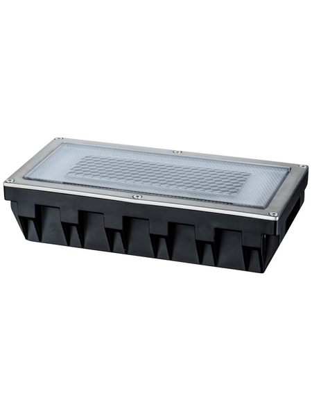 PAULMANN LED-Bodeneinbauleuchte »Outdoor Solar Box«, 0,6 W, IP67, warmweiß