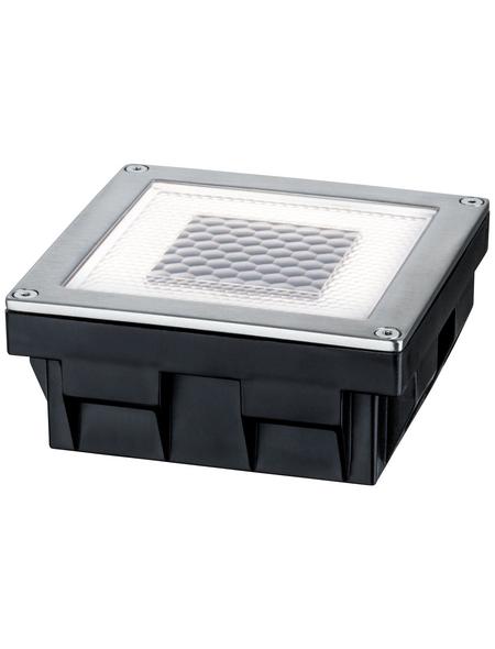 PAULMANN LED-Bodeneinbauleuchte »Outdoor Solar Cube«, 0,24 W