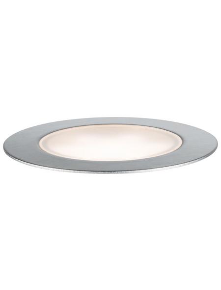 PAULMANN LED-Bodeneinbauleuchte »Plug & Shine«, 1,3 W, dimmbar, IP65, warmweiß