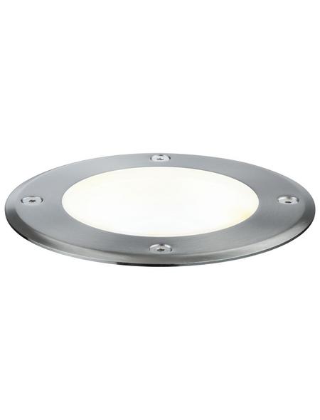 PAULMANN LED-Bodeneinbauleuchte »Plug & Shine«, 6 W, dimmbar, IP67, warmweiß
