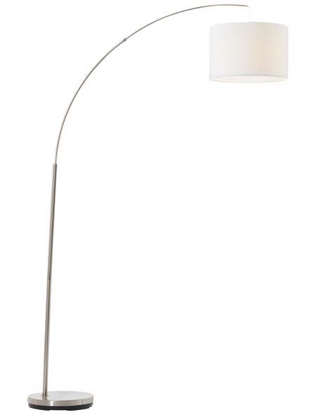 BRILLIANT LED-Bogenstandleuchte »Clarie« , H: 180 cm, E27 ohne Leuchtmittel