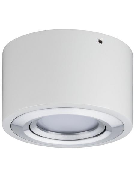 PAULMANN LED-Deckenleuchte aluminiumfarben 1-flammig, dimmbar, inkl. Leuchtmittel