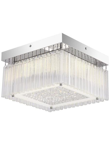 LED-Deckenleuchte »HEIDIR« chromfarben 1-flammig, inkl. Leuchtmittel in neutralweiß