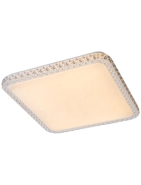 GLOBO LIGHTING LED-Deckenleuchte »KELLY« weiß 1-flammig, inkl. Leuchtmittel in warmweiß