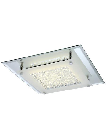 GLOBO LIGHTING LED-Deckenleuchte »LIANA«, Glas/Chrom