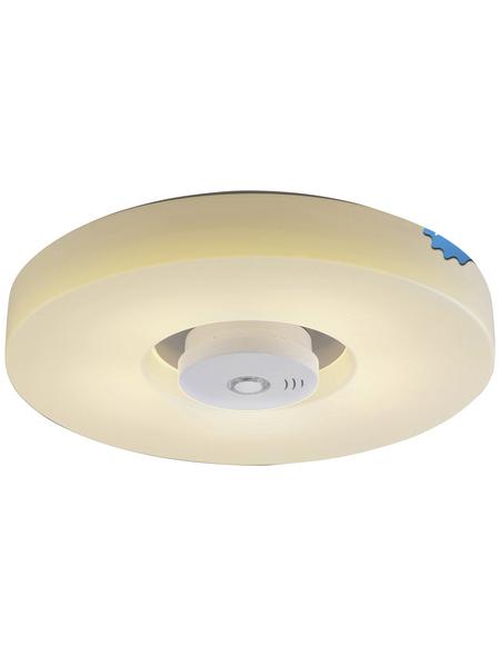 NÄVE LED-Deckenleuchte »Pisa« weiss/opalfarben 1-flammig, inkl. Leuchtmittel in warmweiß