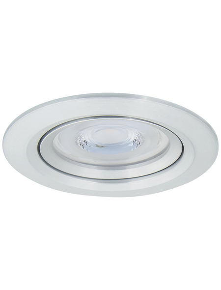 PAULMANN LED-Deckenleuchte »Reflector Coin«, dimmbar, Aluminium
