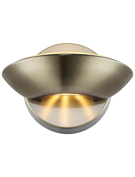LED-Deckenleuchte »SAMMY« messingfarben 1-flammig, inkl. Leuchtmittel in warmweiß