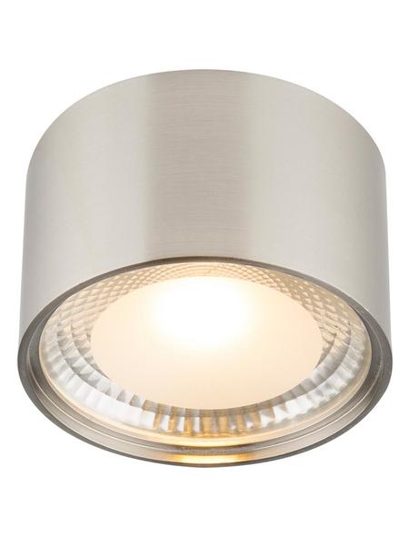 GLOBO LIGHTING LED-Deckenleuchte »SERENA« nickelfarben 1-flammig, inkl. Leuchtmittel in warmweiß