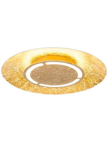 LED-Deckenleuchte »TABEA« goldfarben 1-flammig, inkl. Leuchtmittel in warmweiß