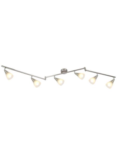 GLOBO LIGHTING LED-Deckenleuchte »TADEUS« chromfarben 6-flammig, E14, ohne Leuchtmittel