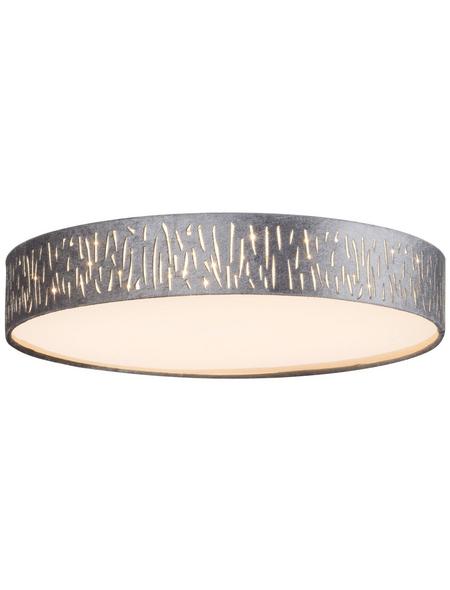 GLOBO LIGHTING LED-Deckenleuchte »TAROK« nickelfarben 1-flammig, inkl. Leuchtmittel in warmweiß