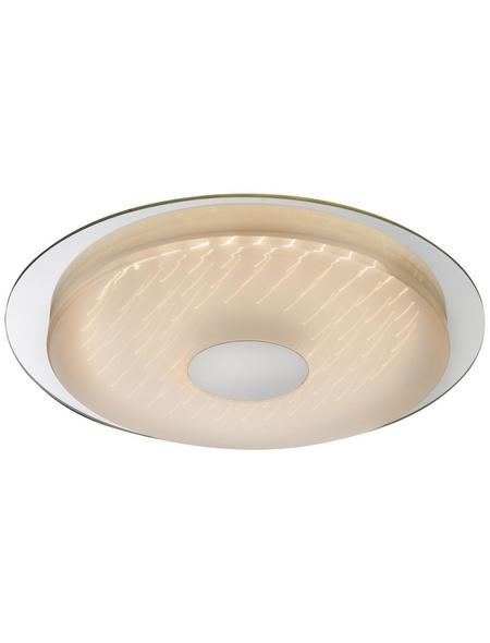 LED-Deckenleuchte »TREVISO I« chromfarben 1-flammig, dimmbar, inkl. Leuchtmittel