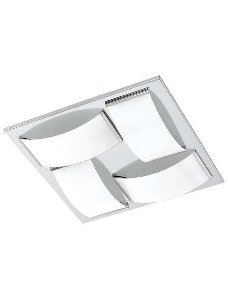 EGLO LED-Deckenleuchte »WASAO 1«, Edelstahl